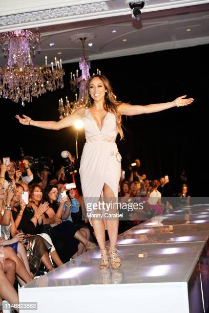 Melissa Gorga attends the Envy By Melissa Gorga Fashion Show on May 03 2019 in Hawthorne New Jersey
