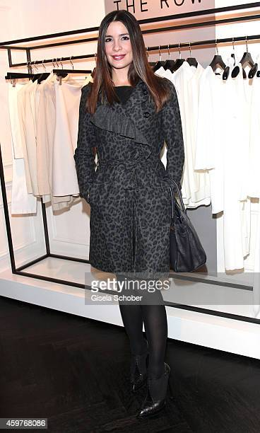 Melissa Graefin von FaberCastell poses during MaryKate Olsen and Ashley Olsen present their collection 'The Row' at Marion Heinrich on November 20...