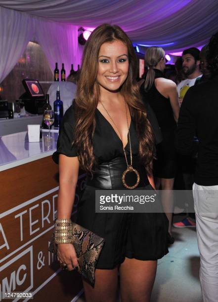 Melissa Grelo attends the La Perla Fashion Show At Nikki Beach at TIFF Bell Lightbox on September 12 2011 in Toronto Canada