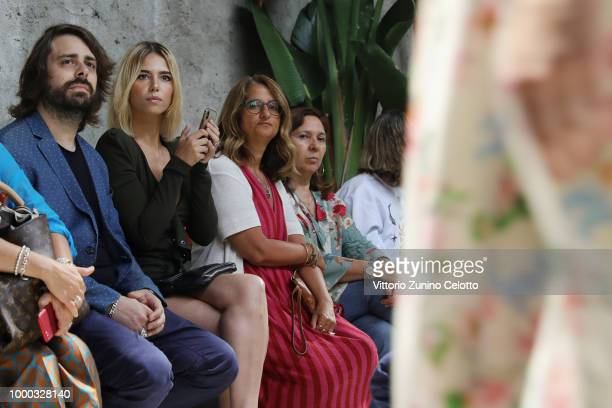 Melissa Greta Marchetto attends Aniye By Fashion Show SS19 on July 16 2018 in Milan Italy