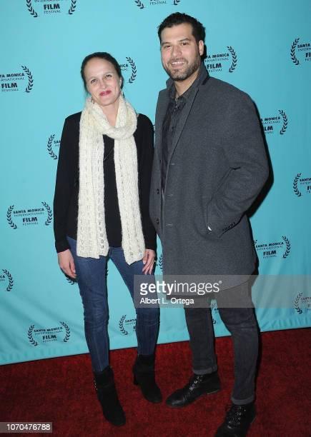 Melissa Harkness and Mig Feliciano attend the 2018 Santa Monica International Film Festival Award Show held at 1212 Santa Monica at 3rd St Promenade...