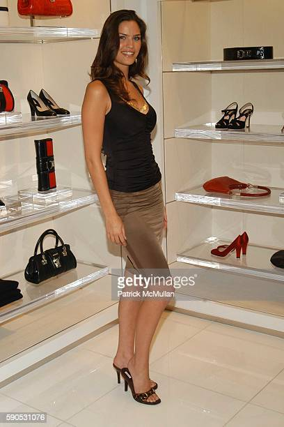 Melissa Haro attends Heidi Klum and Michael Kors from the Emmy nominated Project Runway host an Intimate Summer Cocktail Party at Michael Kors Store...