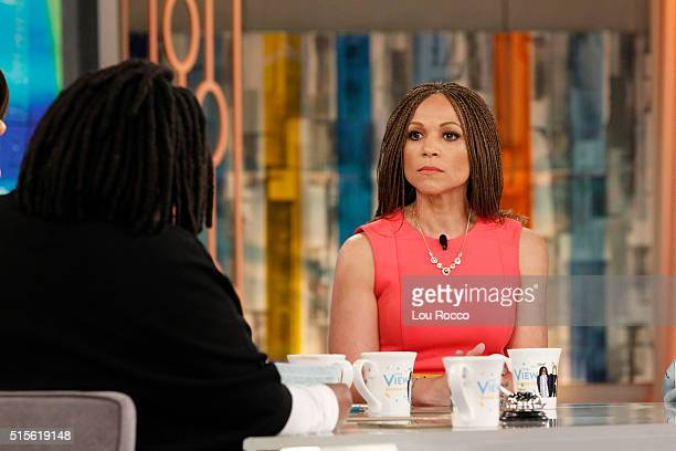 THE VIEW Melissa Harris Perry discusses leaving her MSNBC show on THE VIEW 3/14/16 airing on the Walt Disney Television via Getty Images Television...