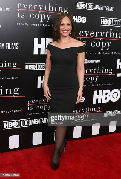 Melissa HarrisPerry attends the New York Special Screening of Everything Is Copy Nora Ephron Scripted Unscripted at The Museum of Modern Art on March...