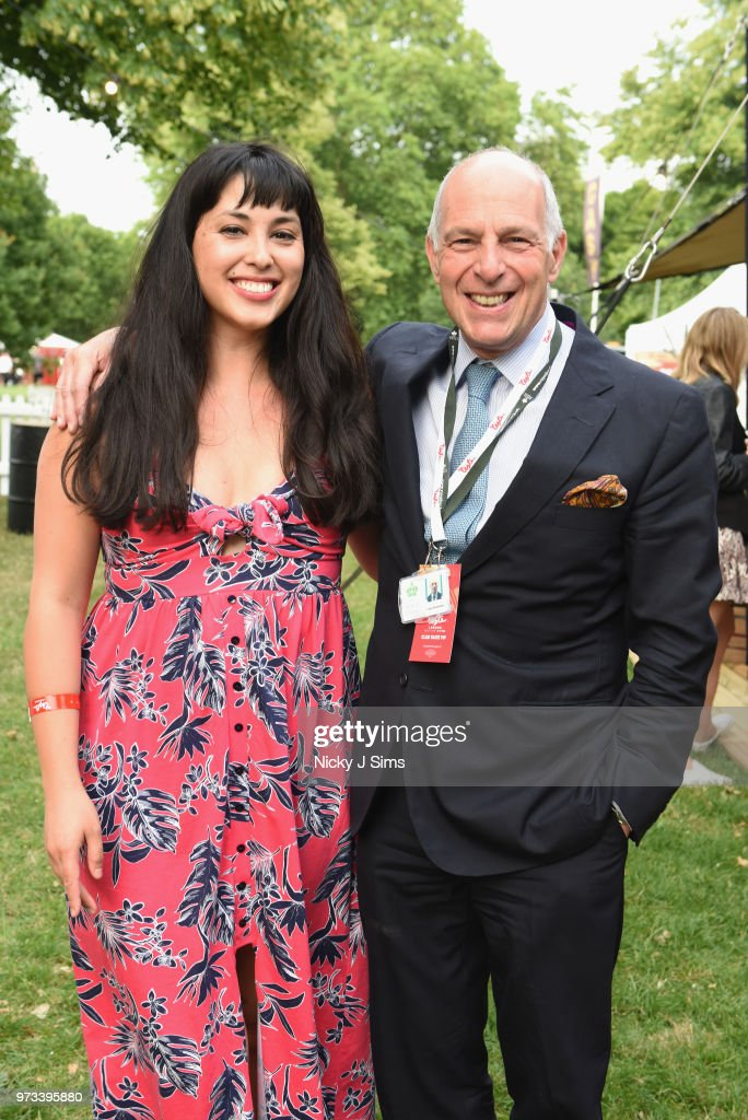 Melissa Hemsley and Loyd Grossman at the opening night of Taste of London (running 13th-16th June) at Regents Park on June 13, 2018 in London, England.