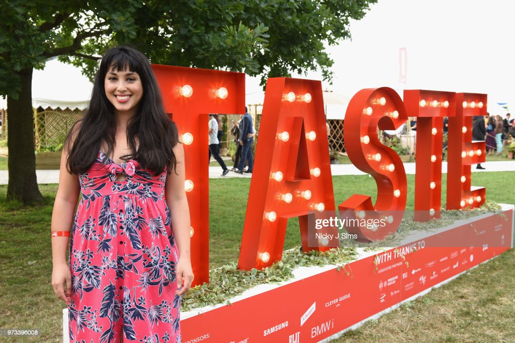 Melissa Hemsley at the opening night of Taste of London (running 13th-16th June) at Regents Park on June 13, 2018 in London, England.