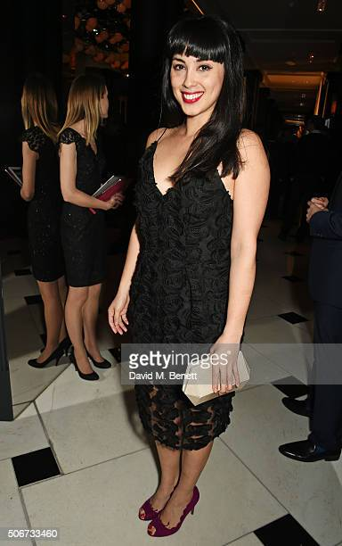 Melissa Hemsley attends Debrett's 500 party hosted at Rosewood London on January 25 2016 in London England Debrett's 500 recognises the most...