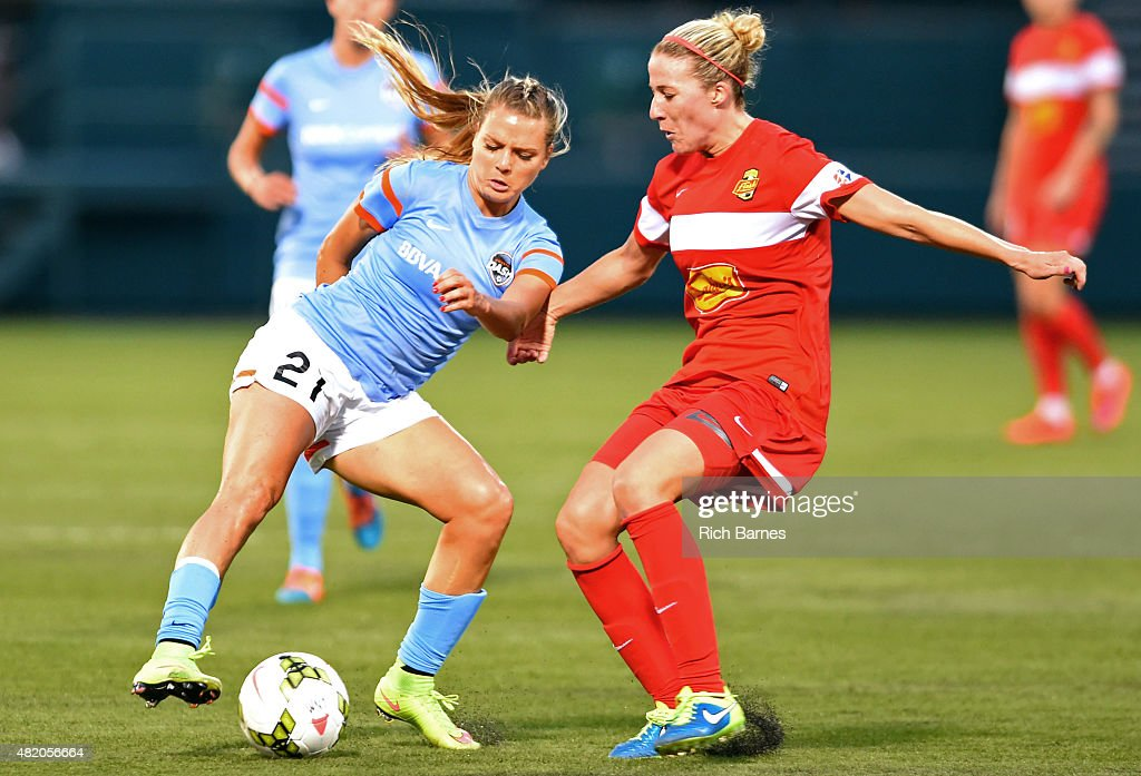Houston Dash v Western New York Flash : News Photo