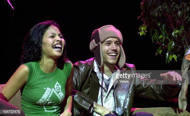 Melissa Howard and Colin Mortensen during The Real World Reunion Tour at Beacon Theatre in New York City New York United States