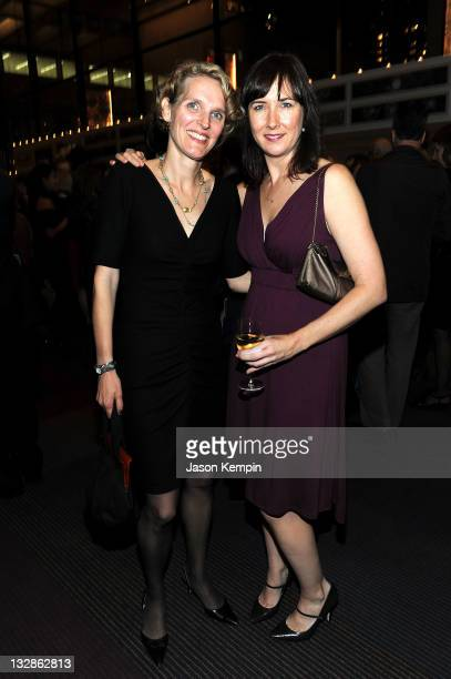 Melissa James Gibson and Lisa D' Amour attend The 2011 Steinberg Playwright Mimi Awards presented by The Harold and Mimi Steinberg Charitable Trust...