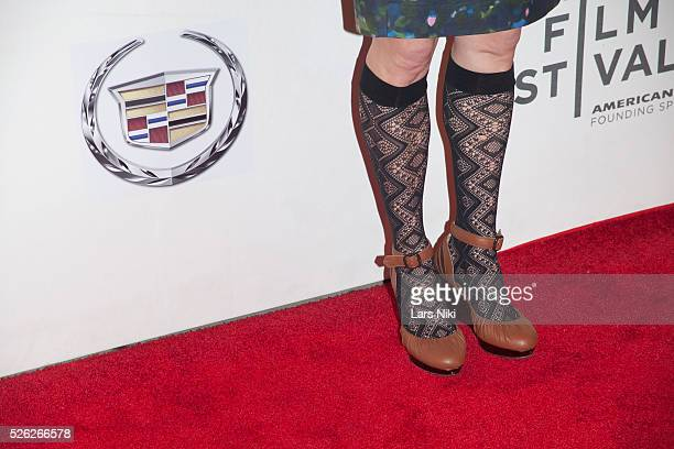 Melissa James Gibson attends the Almost Christmas film premiere during the Tribeca Film Festival at BMCC in New York City �� LAN