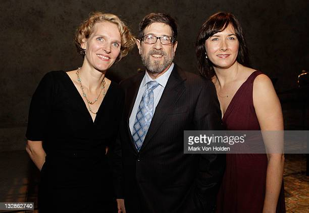 Melissa James Gibson James Steingberg and Lisa D'Amour attend The 2011 Steinberg Playwright Mimi Awards presented by The Harold and Mimi Steinberg...