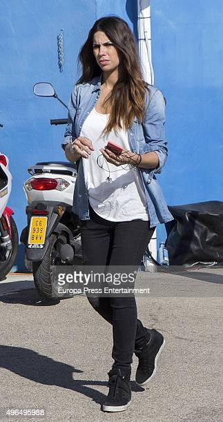 Melissa Jimenez attends 2015 MotoGP World Champion at the Valencia Grand Prix at Ricardo Tormo racetrack on November 8 2015 in Cheste Spain
