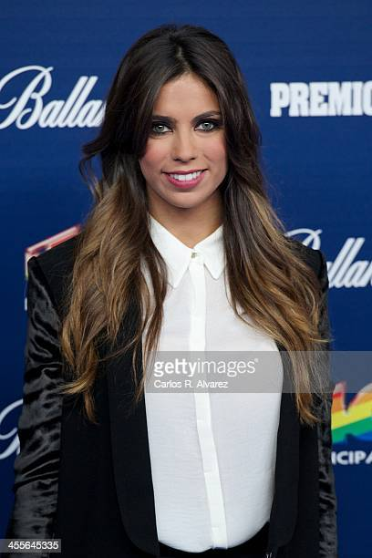 Melissa Jimenez attends the '40 Principales Awards' 2013 photocall at Palacio de los Deportes on December 12 2013 in Madrid Spain