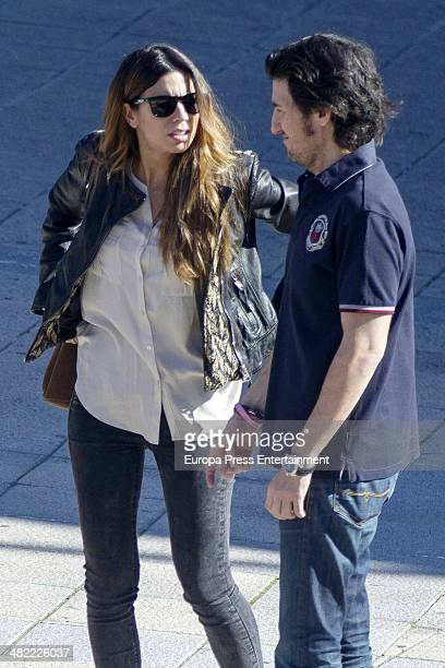 Melissa Jimenez is seen on April 2 2014 in Madrid Spain