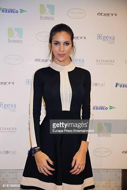 Melissa Jimenez presents the 'Estetica y Belleza' new room at El Corte Ingles store on October 27 2016 in Pozuelo de Alarcon Spain