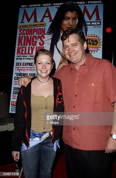 Melissa Joan Hart and Keith Blanchard EditorinChief of Maxim