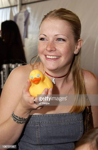 Melissa Joan Hart at Drugstorecom during Nickelodeon's 15th Annual Kids Choice Awards Backstage Creations Talent Retreat Day 2 at Barker Hangar in...