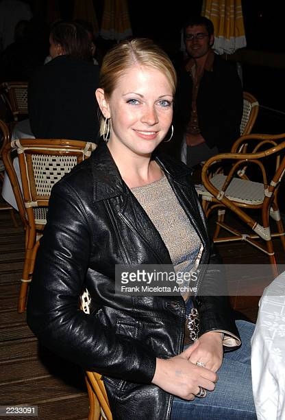 Melissa Joan Hart at the party for 'Scorched' at the 55th Cannes Film Festival in Cannes France May 17 2002 Photo by Frank Micelotta/ImageDirect