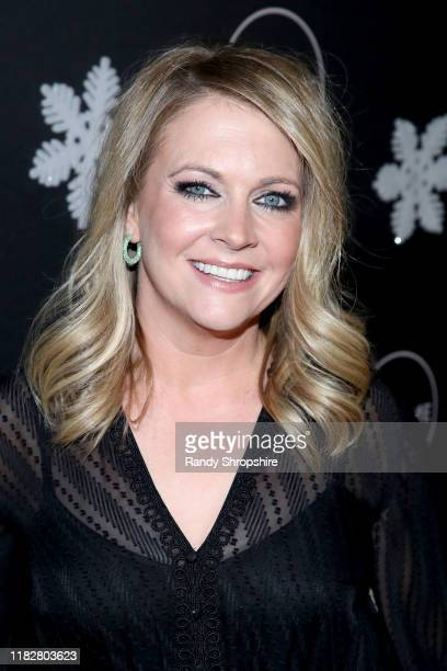 """Melissa Joan Hart attends It's a Wonderful Lifetime"""" first holiday party of the year at STK Los Angeles on October 22 2019 in Los Angeles California"""