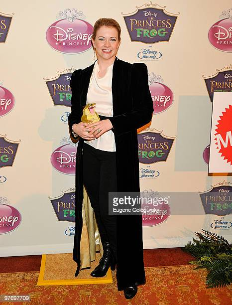 Melissa Joan Hart attends Princess Tiana's official induction into the Disney Princess Royal Court and The Princess and the Frog DVD launch at The...