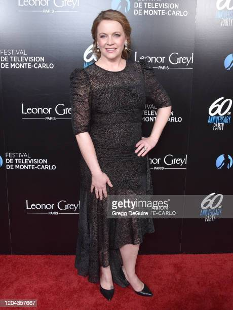 Melissa Joan Hart attends the 60th Anniversary Party For The Monte-Carlo TV Festival at Sunset Tower Hotel on February 05, 2020 in West Hollywood,...