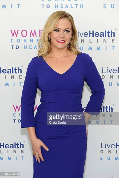Melissa Joan Hart attends the LiveHealth Online Summit Women Connect to Health at IAC Building on September 27 2016 in New York City