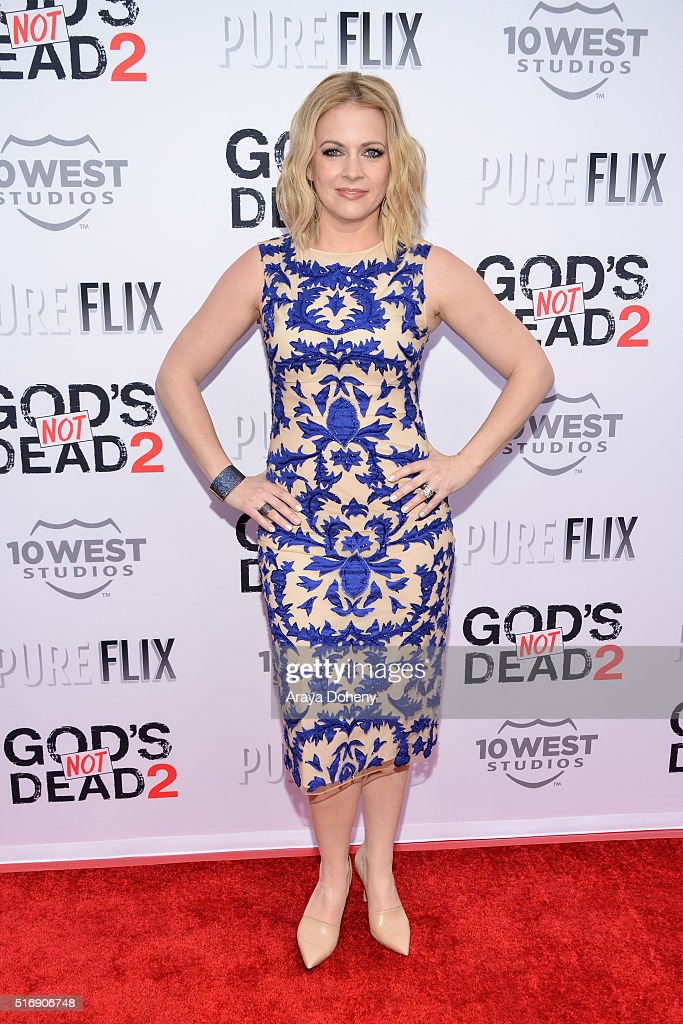 Melissa Joan Hart attends the premiere of Pure Flix Entertainment's 'God's Not Dead 2' at Directors Guild Of America on March 21, 2016 in Los Angeles, California.