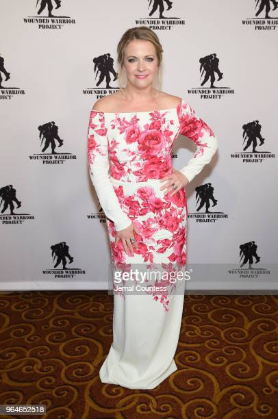 Melissa Joan Hart attends the Wounded Warrior Project Courage Awards Benefit Dinner on May 31 2018 at Gotham Hall in New York City