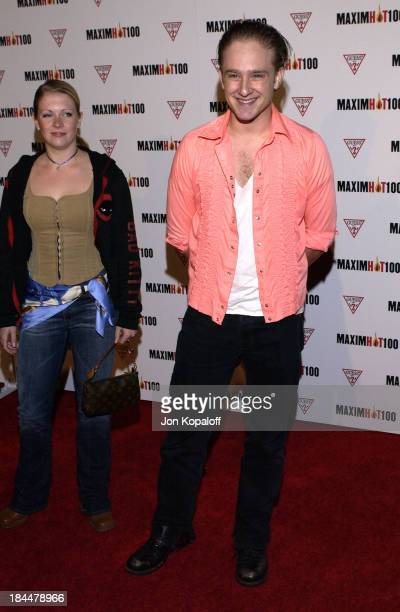 Melissa Joan Hart Ben Foster during Maxim Hot 100 Party Arrivals at Yamashiro in Hollywood California United States