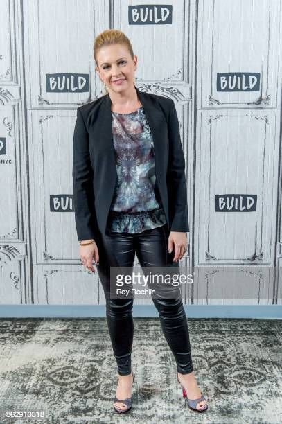 Melissa Joan Hart discusses The Watcher in the Woods with the Build Series at Build Studio on October 18 2017 in New York City