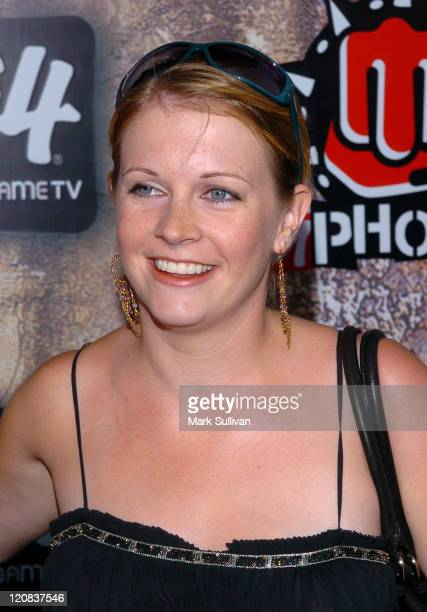 Melissa Joan Hart during 2005 GPhoria Videogame Awards Arrivals at Los Angeles Center Studios in Los Angeles California United States