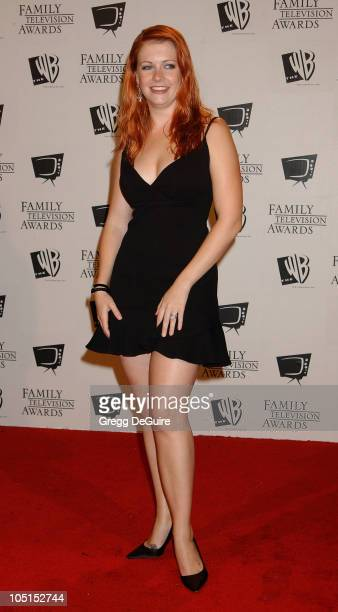 Melissa Joan Hart during 5th Annual Family Television Awards at Beverly Hilton Hotel in Beverly Hills California United States