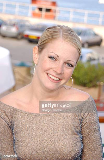 Melissa Joan Hart during Cannes 2002 Anheuser Busch and Hollywood Reporter Dinner with Randy Newman in Cannes France