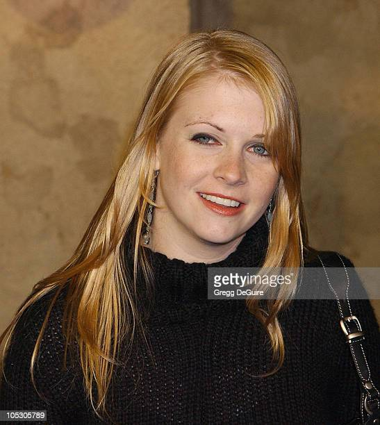 Melissa Joan Hart during The Haunted Mansion World Premiere at El Capitan Theatre in Hollywood California United States