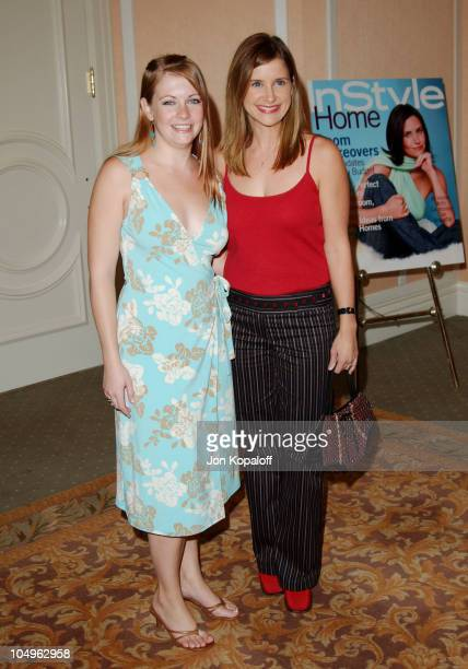 Melissa Joan Hart Kellie Martin during Lupus LA InStyle Magazine Present The Old Bags Lupus Luncheon at The Beverly Hills Hotel in Beverly Hills...