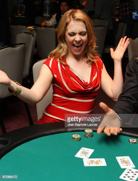 Melissa Joan Hart participates in the 'Get Lucky For Lupus' Fundraiser at Andaz Hotel on February 25 2010 in West Hollywood California