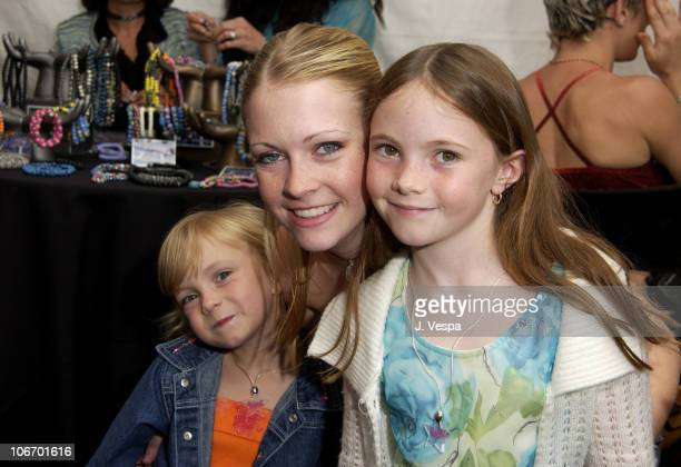 Melissa Joan Hart sisters during Nickelodeon's 15th Annual Kids Choice Awards Backstage Creations Talent Retreat Day 2 at Barker Hangar in Santa...