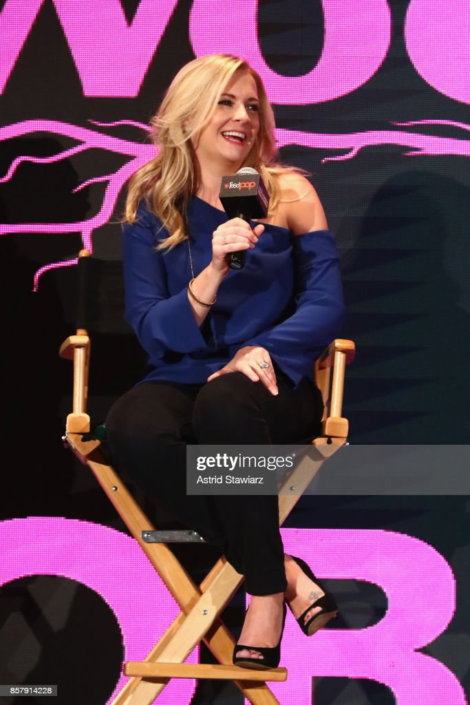 "Lifetime's ""The Watcher In The Woods"" Panel With Melissa Joan Hart And Paula Hart At New York Comic Con 2017"