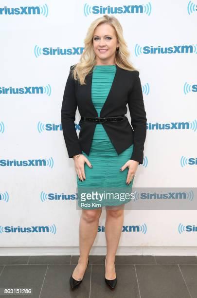 Melissa Joan Hart visits at SiriusXM Studios on October 19 2017 in New York City
