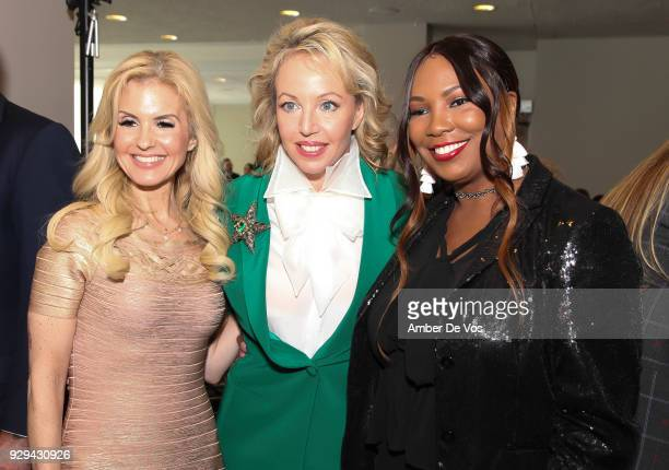 Melissa Kassis HRH Princess Camilla of Bourbon Two Sicilies Duchess of Castro and Mary Brown attend the UNWFPA Annual Awards Luncheon in Celebration...