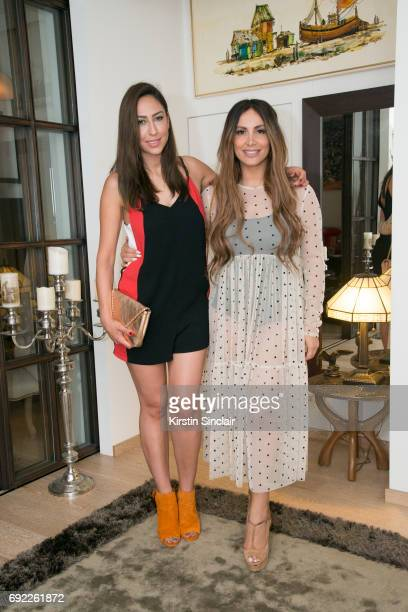 Melissa Khalaj and Enissa Amani attends Hofit Golan's Birthday celebrations on June 03 2017 in London England