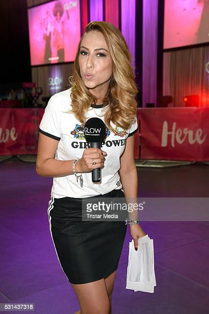 Melissa Khalaj attends the 'GLOW The Beauty Convention' on May 14 2016 in Stuttgart Germany