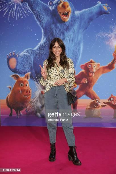 """Melissa Khalaj attends the """"Willkommen im Wunder Park"""" premiere at Kino in der Kulturbrauerei on March 31, 2019 in Berlin, Germany."""