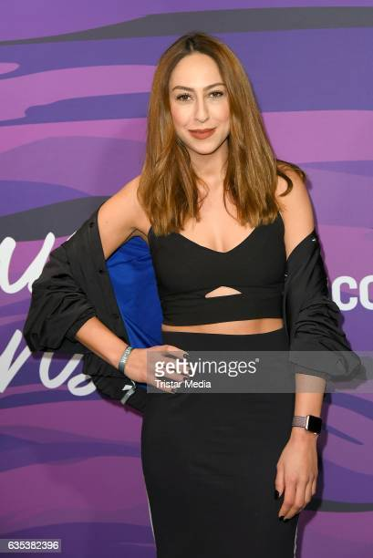 Melissa Khalaj attends the Young ICONs Award in cooperation with HM and Tiffany's Co at BRLO Brwhouse on February 14 2017 in Berlin Germany