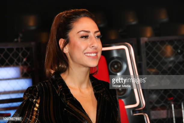 Melissa Khalaj during the photo call for the show The Voice Kids on January 28 2019 in Berlin El Salvador
