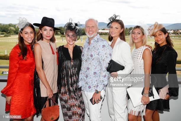 "Melissa Khalaj, Nadine Warmuth, Nina Victoria Suess, Markus Wahl, Laura Wontorra, Aylin Koenig-Oeztuerk and Rabea Schif during the launch of ""Le..."