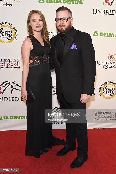 Melissa Knapp and Sam Boyd attend Unbridled Eve Gala during the 142nd Kentucky Derby on May 6 2016 in Louisville Kentucky