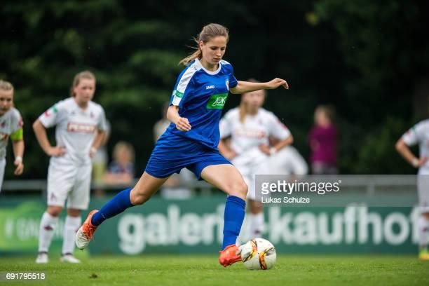 Melissa Koessler of Potsdam in action during the B Junior Girl's German Championship Semi Final match between 1 FC Koeln and 1 FFC Turbine Potsdam on...