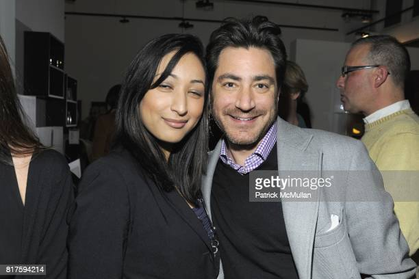 Melissa Koskotas and Kenny Gordon attend 8TH ANNUAL BoCONCEPT/KOLDESIGN HOLIDAY PARTY at BoConcept on December 14 2010 in New York City